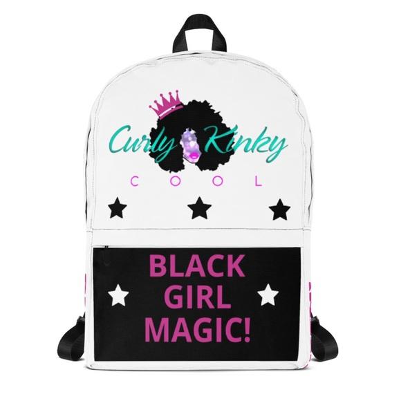 Black Girl Magic Custom Backpack fad4d80abe3a8